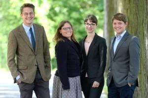 Schweizer Stipendiaten des 6. Jahrgangs (Fotograf: David Außerhofer; Bildrechte: MPC GmbH)