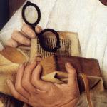 Buch bei Van Eyck (Quelle: Wikimedia).